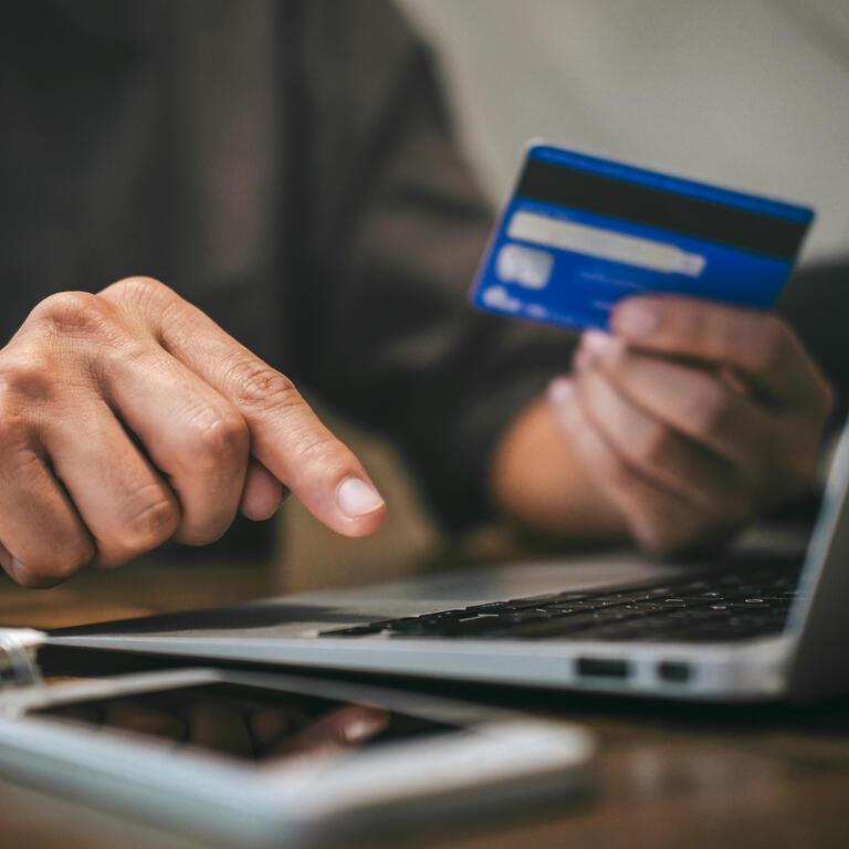 Ocean credit card online